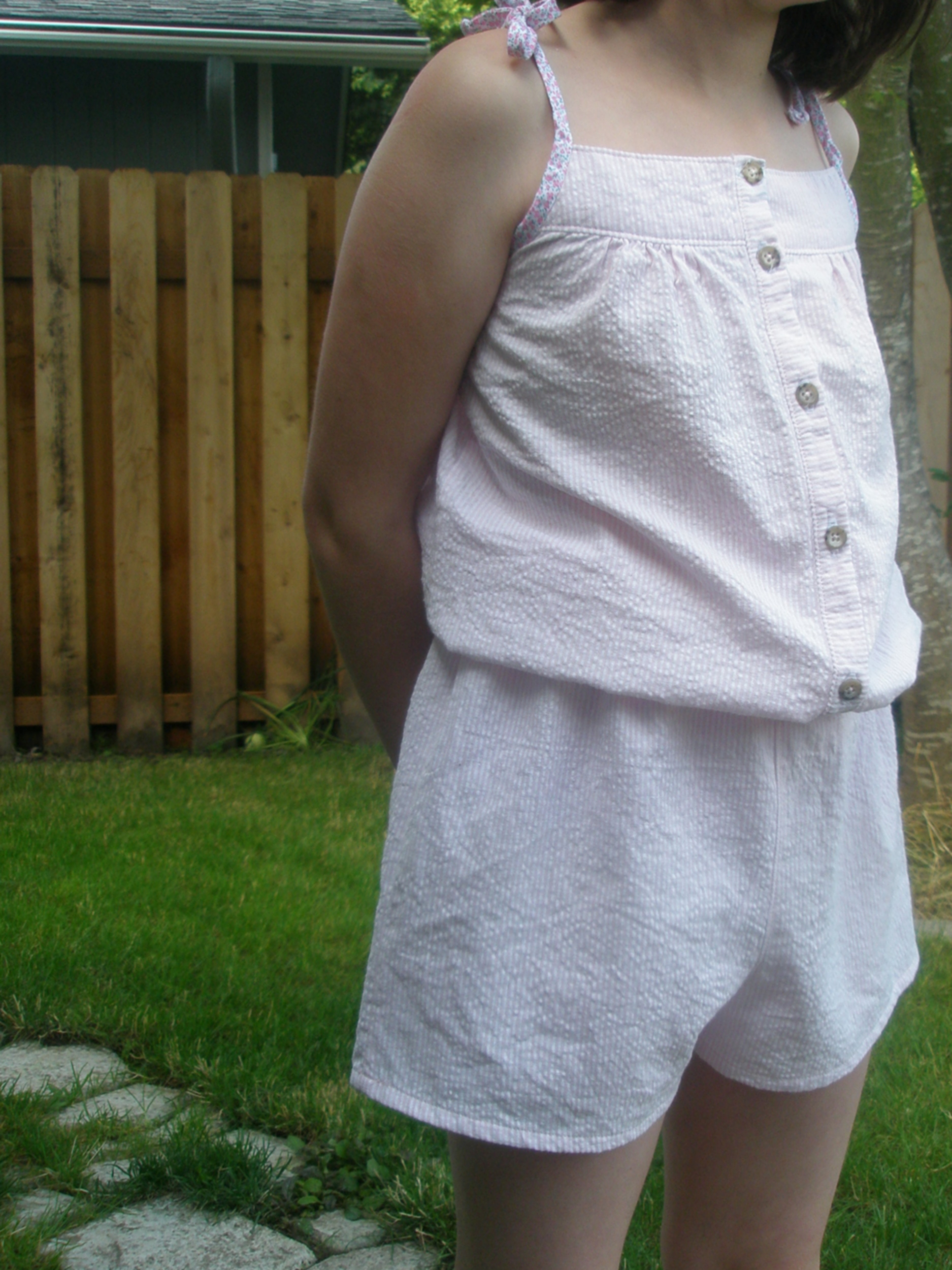 Summer Romper Sewing Tutorial