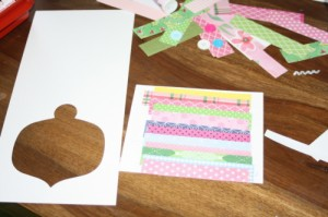 Avery Lane Blog Christmas card craft tutorial
