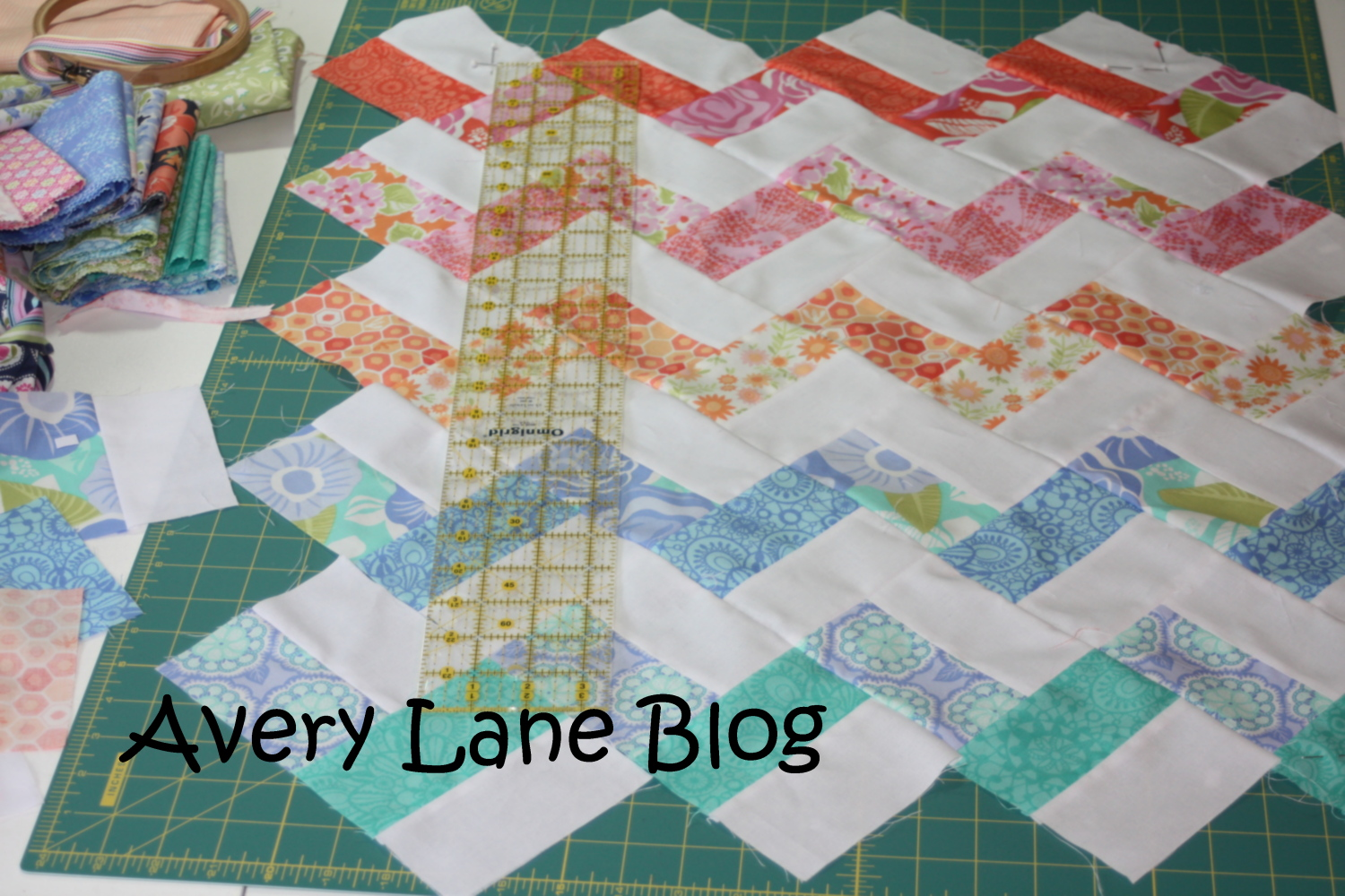 Quilt Patterns Using Squares And Rectangles : Babysteps in Quilting - Avery Lane Sewing