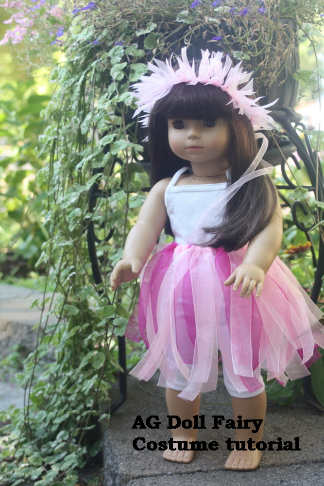 18 inch Doll Faerie Costume Tutorial