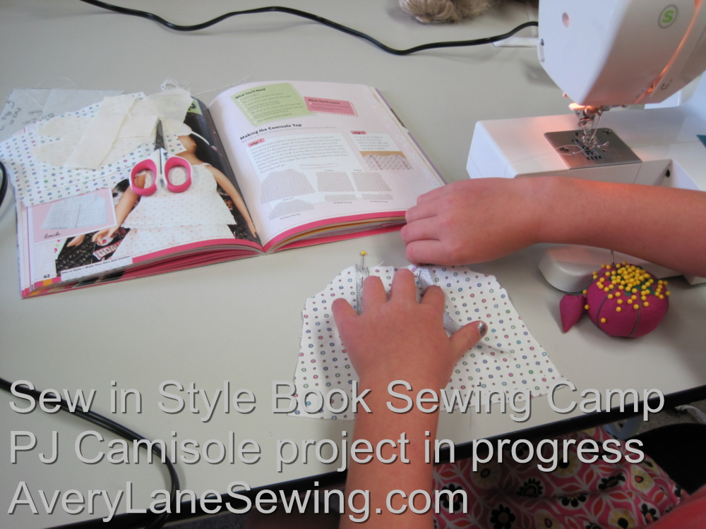 Sew in Style Book Sewing Camp 2 AveryLaneSewing