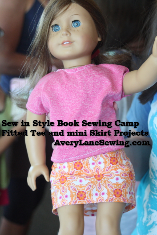 Sew in Style Book Sewing Camp AveryLaneSewing.com 2