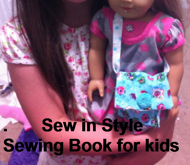 Sew in Style Sewing Book for kids to learn to sew for their AG dolls