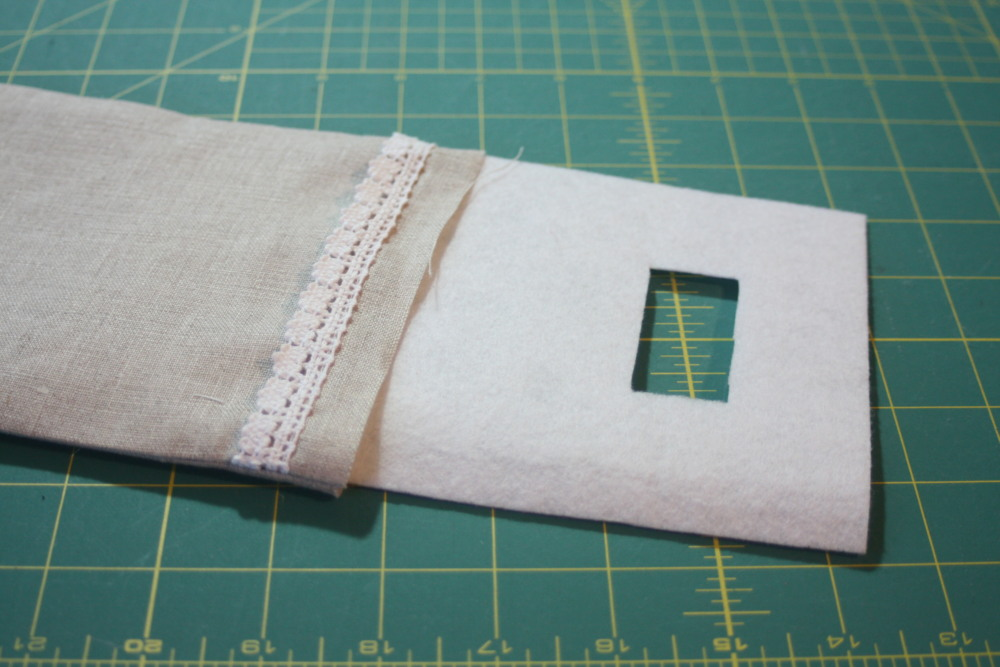 Sewing tutorial for making phone charging station 8