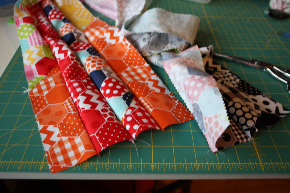 Doll Quilt Tutorial Jelly Roll Race 13