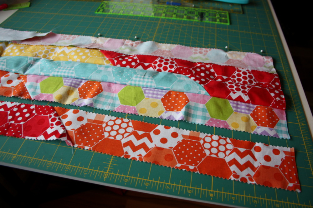 Doll Quilt Tutorial Jelly Roll Race 14