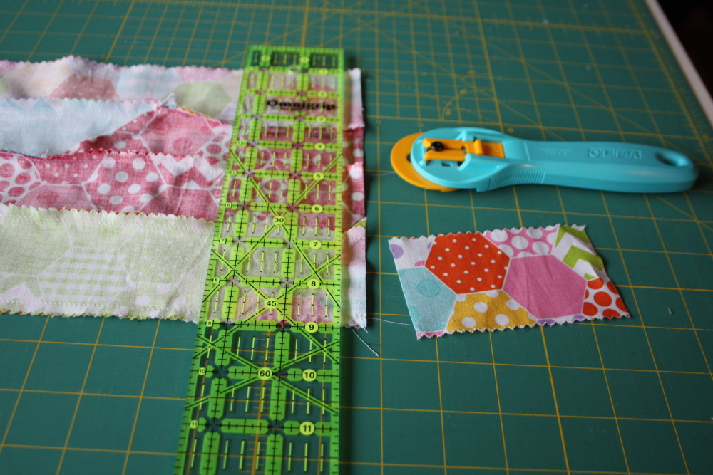 Doll Quilt Tutorial Jelly Roll Race 15