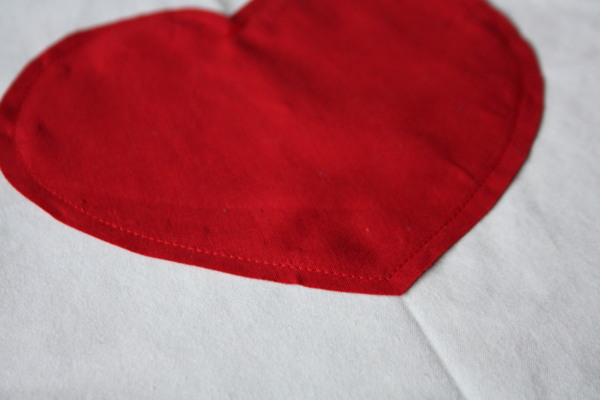 Faux Chenille Valentine Heart Pillow Sewing Tutorial on AveryLaneSewing.com  4
