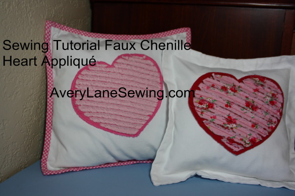 Valentine's Day Tutorial: Shabby Chic Heart Pillow