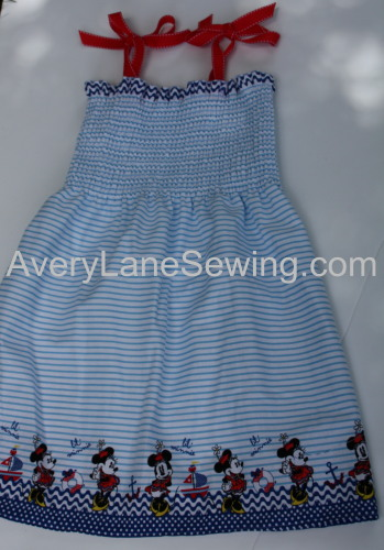20 Minute Dress Sewing Tutorial