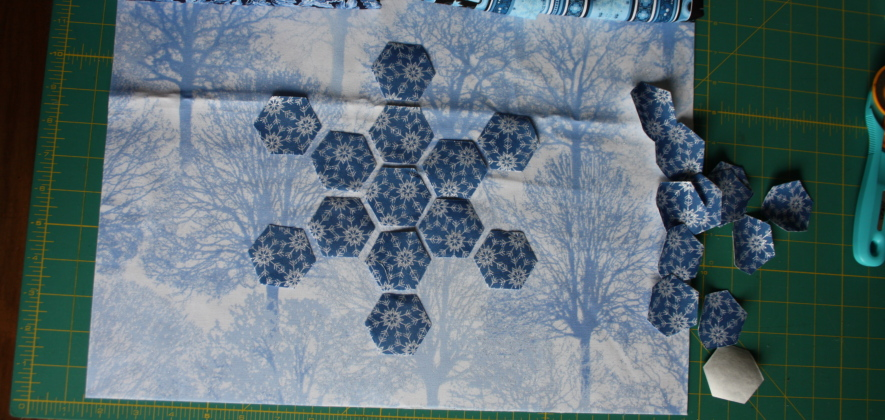 Modern Hexagon Snowflake Placemat Tutorial Avery Lane Sewing