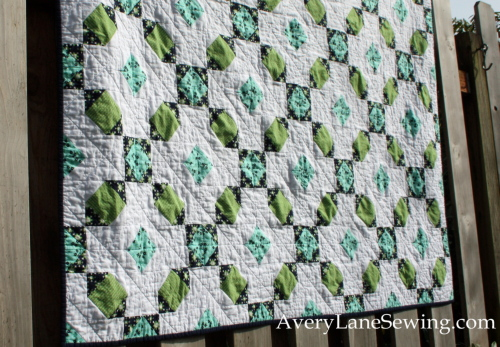 Lattice Quilt: A Modern Quilting Tutorial