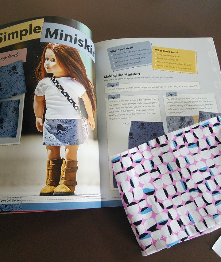 Katherine miniskirt project from Sew in Style