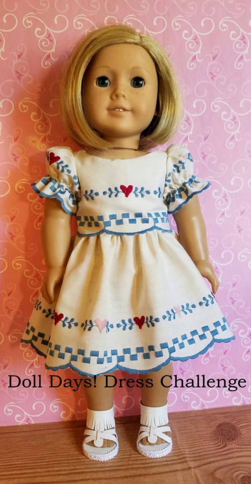 Doll Days! Dress Challenge 4