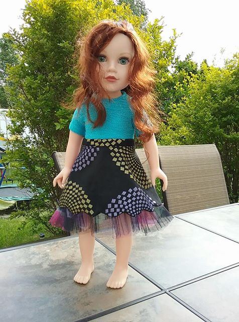 33 Doll Days Skirt Challenge