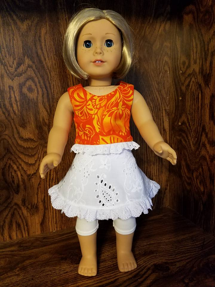 45 Doll Days Skirt Challenge