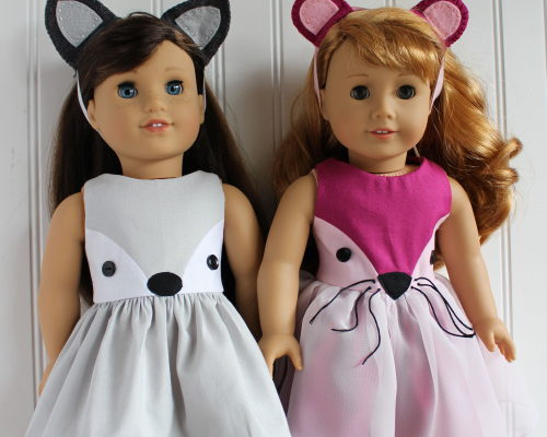 AG Doll Tutorial: animal ears